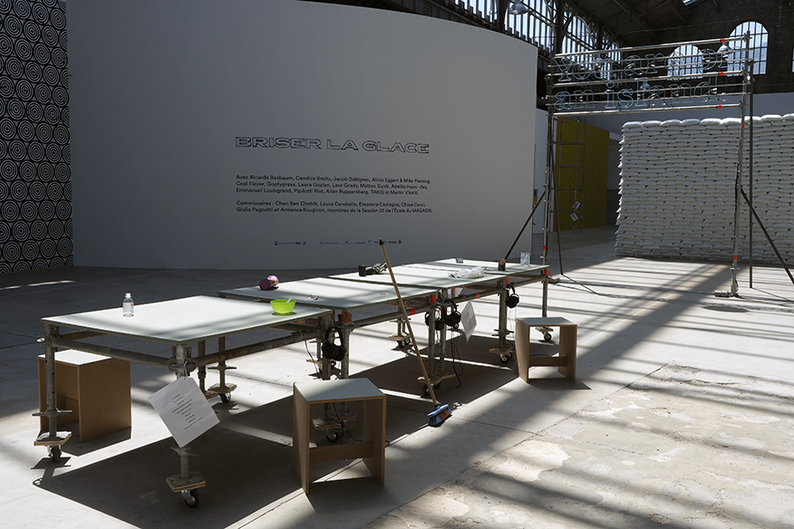 Installation view within MAGASIN